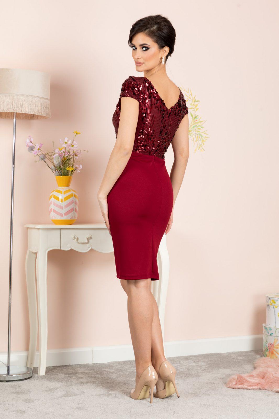 Viviane Μπορντό Φόρεμα 7170 2