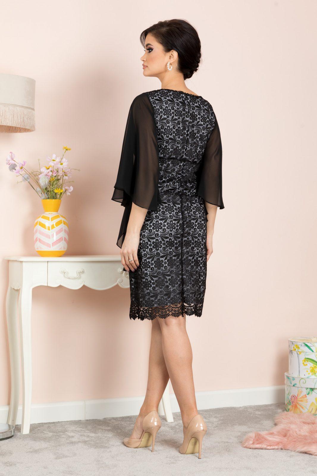 Amira Μαύρο Φόρεμα 7134