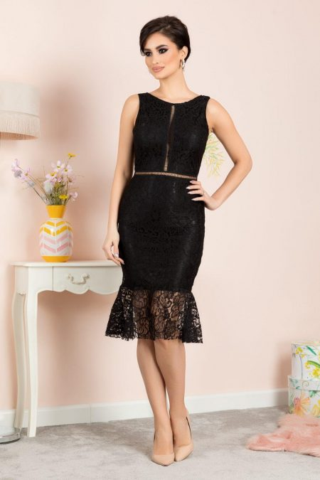 Amore Black Dress