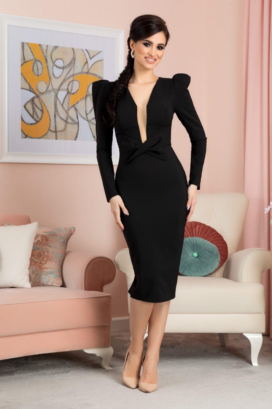 Ellie Black Dress
