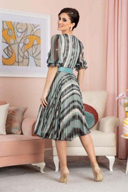 Esther Μέντα Φόρεμα 7084