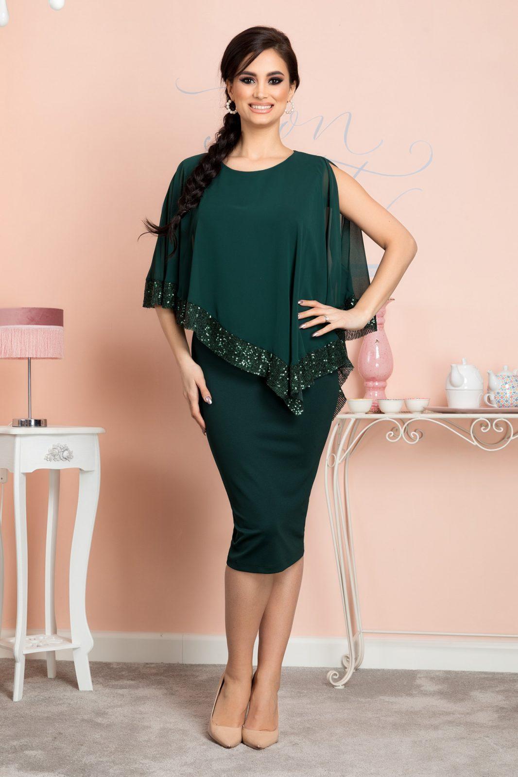 Kalya Green Dress