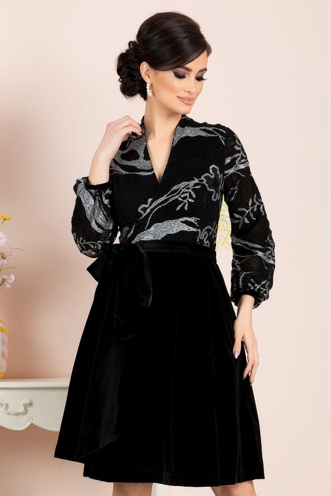 Dyana Black Dress