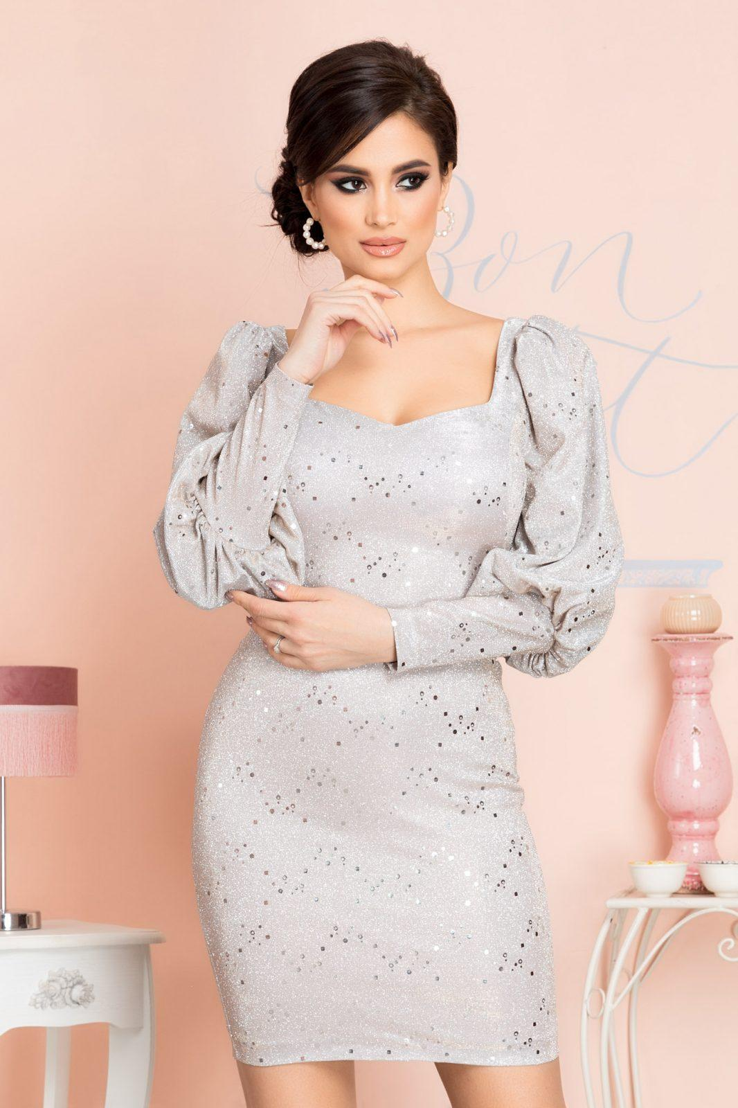 Remarkable Silver Dress