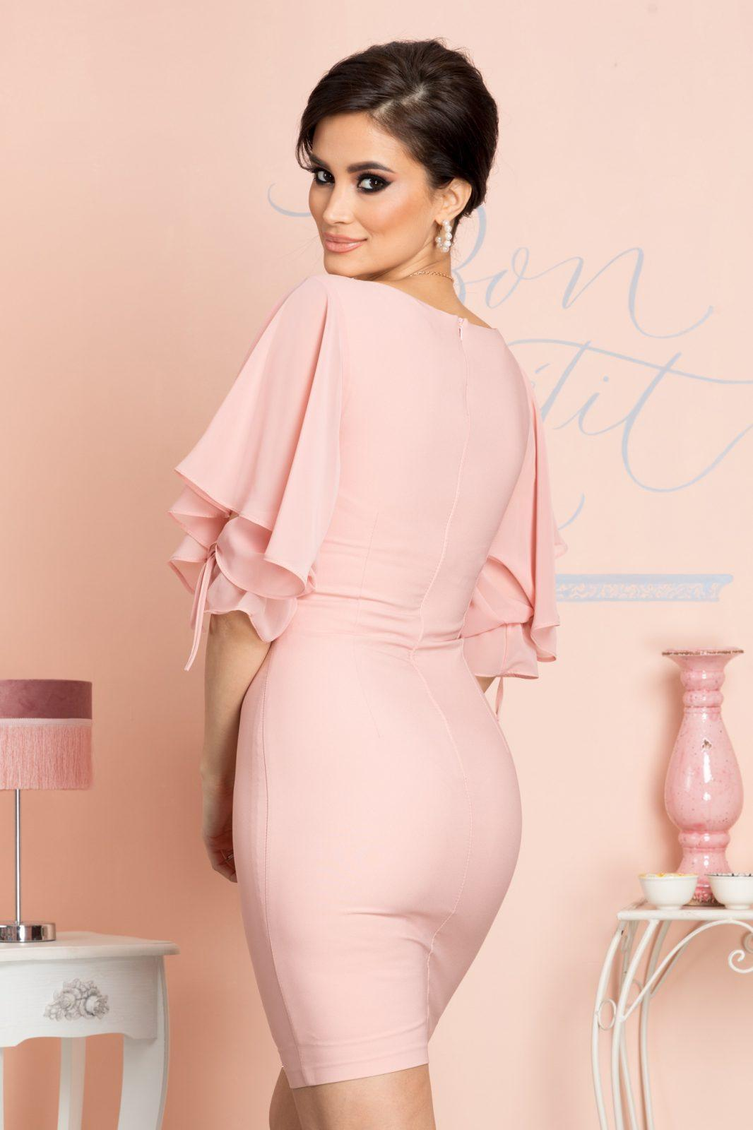 Karla Ροζ Φόρεμα 7072