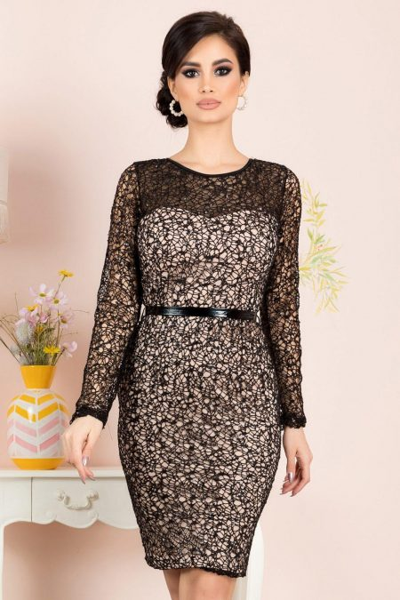 Jewel Black Dress