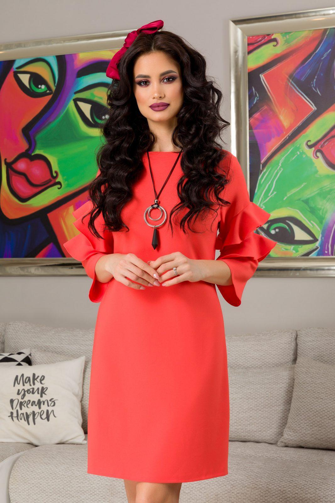 Hanna Κοραλί Φόρεμα 7260