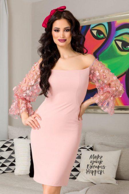 Aliona Pink Dress
