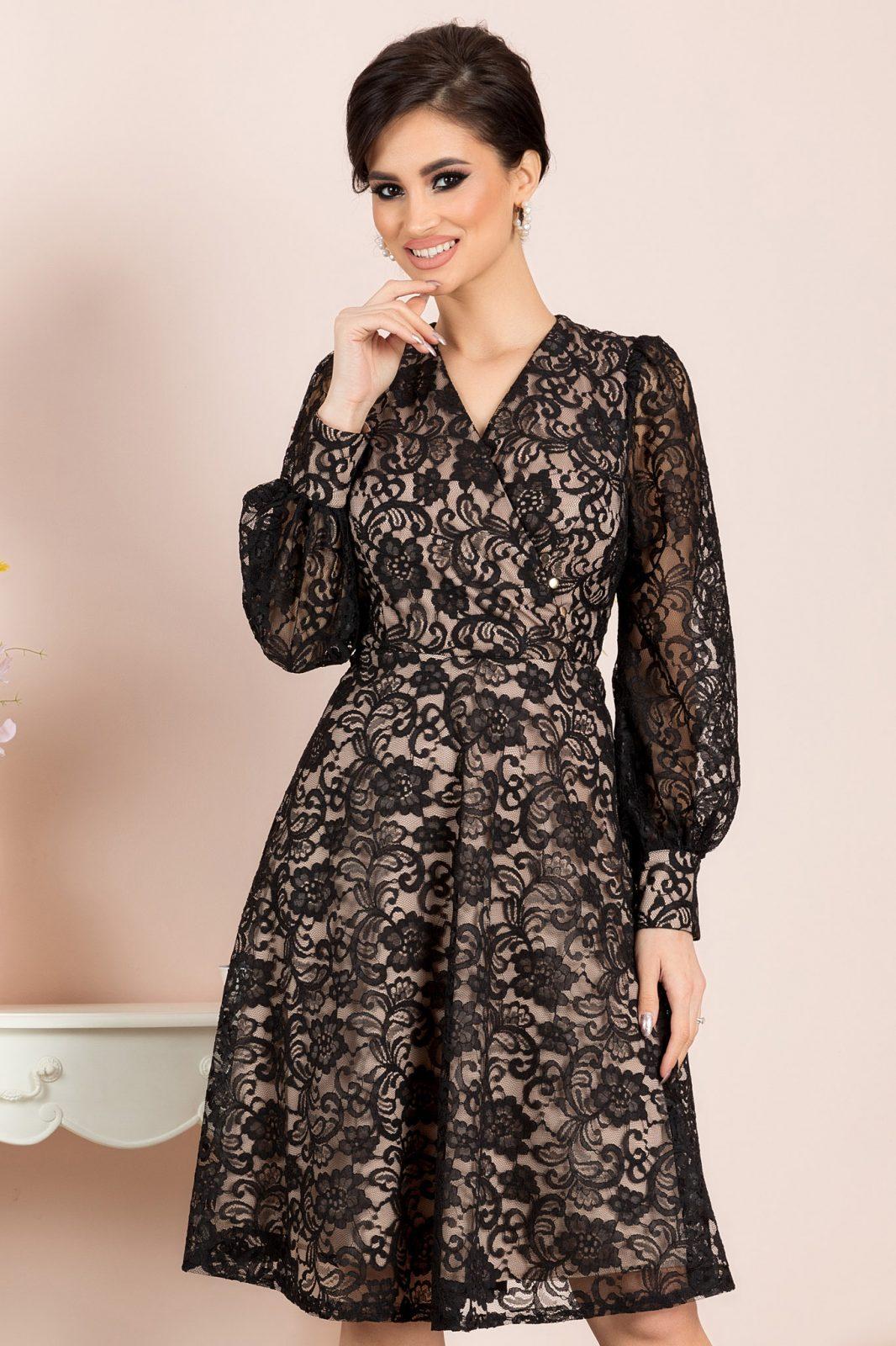 Aprill Black Dress