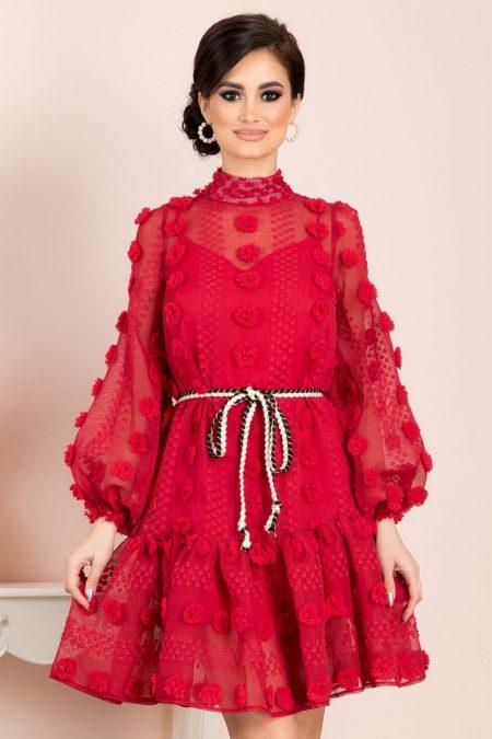Yadira Red Dress
