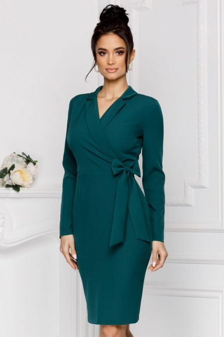 Moze Sheyla Green Dress