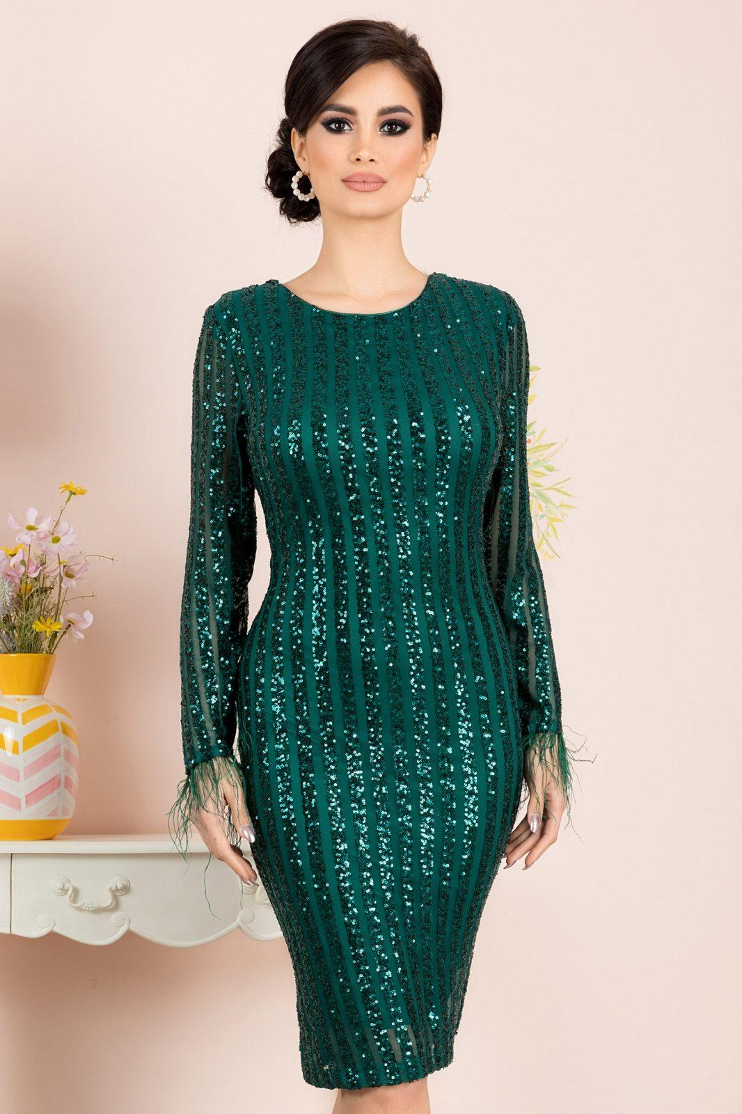 Ranya Green Dress