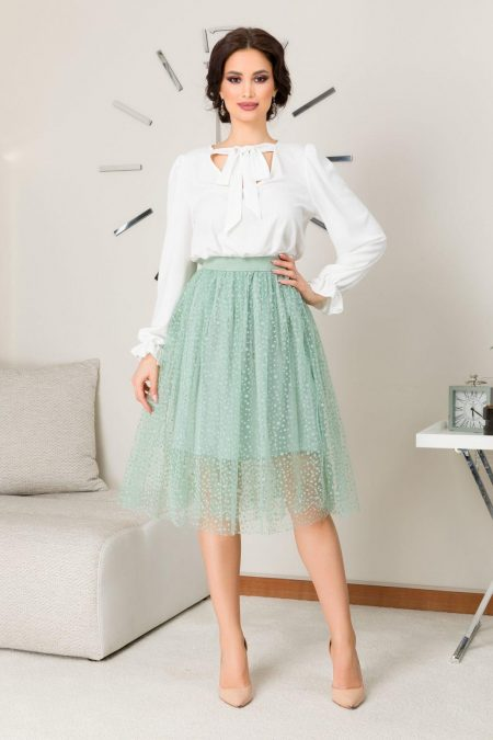 Holly Mint Skirt