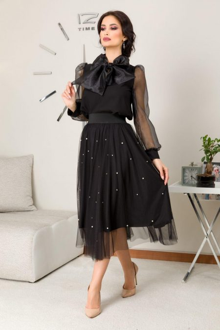 Brya Black Skirt
