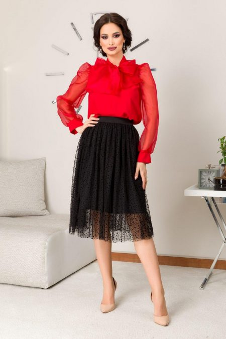 Holly Black Skirt
