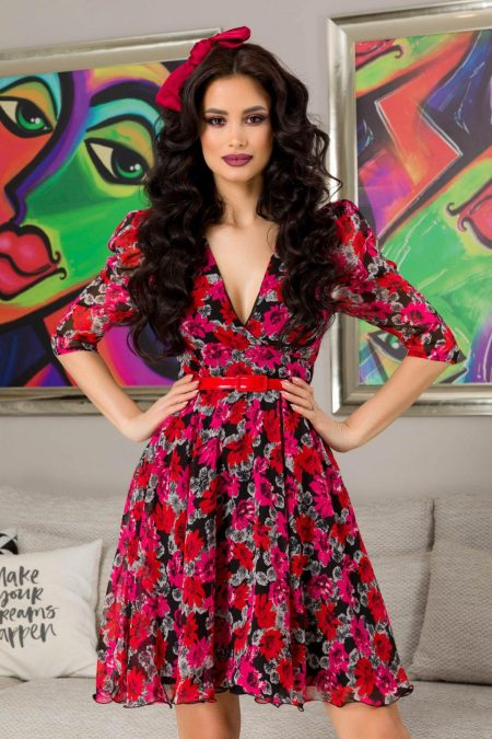 Magda Floral Φόρεμα 7270