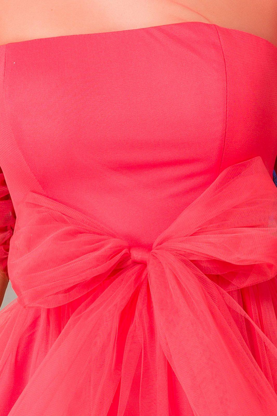 Barbie Mini Κοραλί Φόρεμα 7221