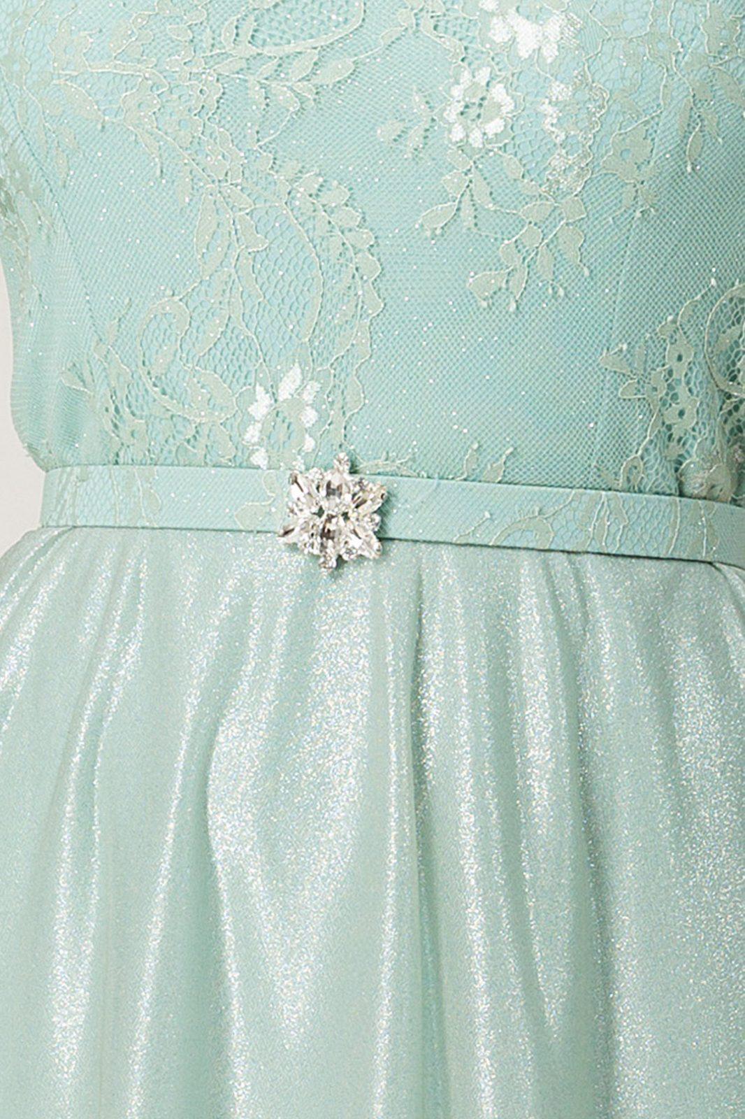 Hailey Maxi Μέντα Φόρεμα 7217