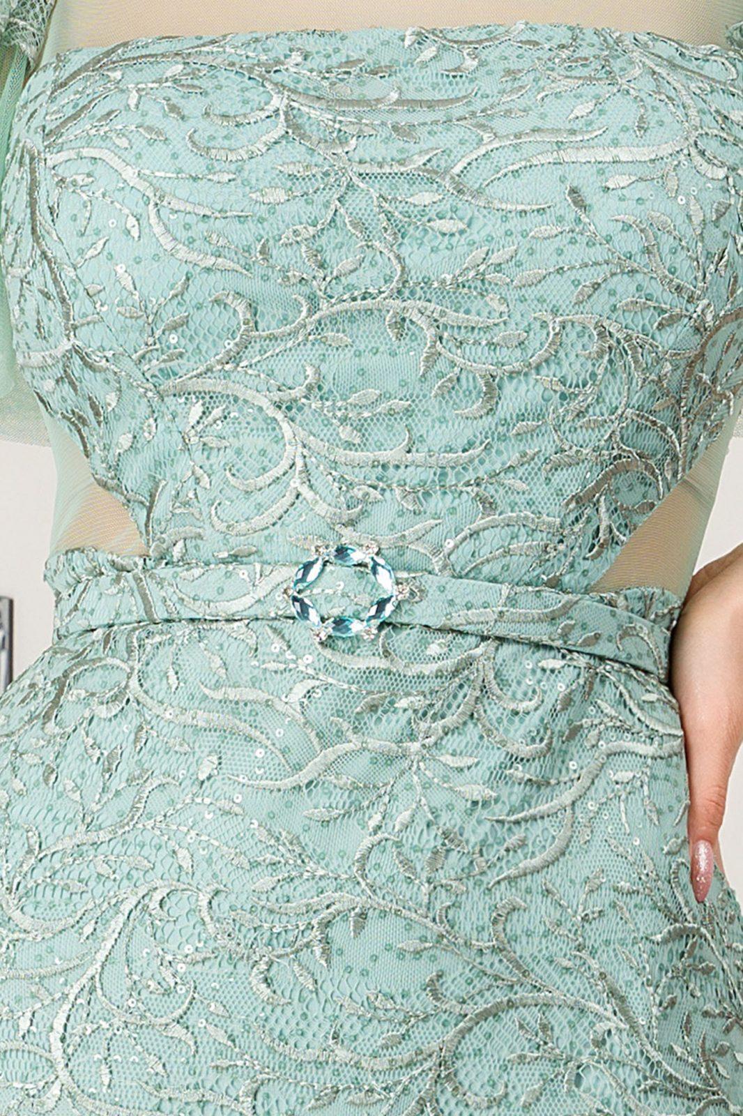 Arianna Maxi Μέντα Φόρεμα 7236