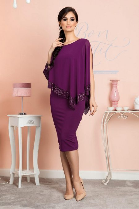 Kalya Violet Dress