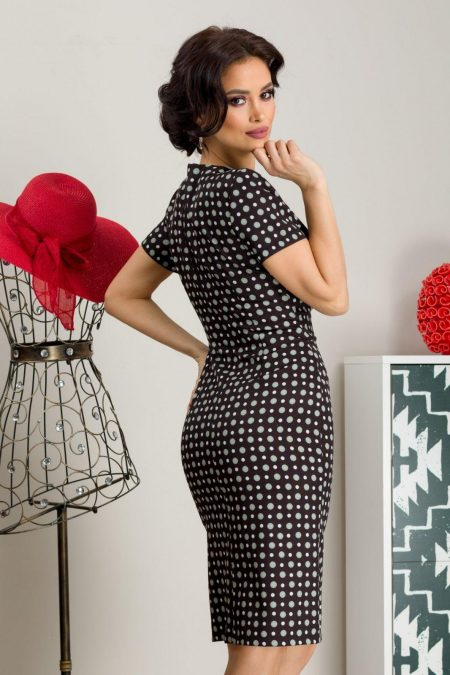 Taylor Μαύρο Φόρεμα 7234