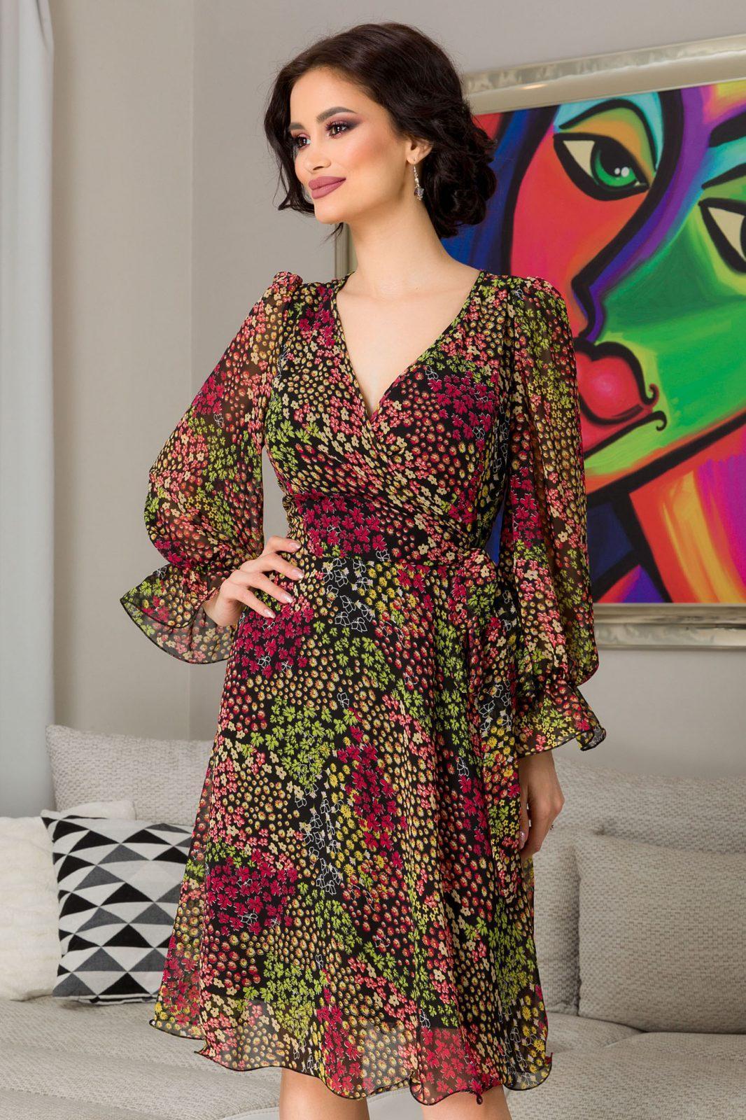 Simine Multi Floral Dress