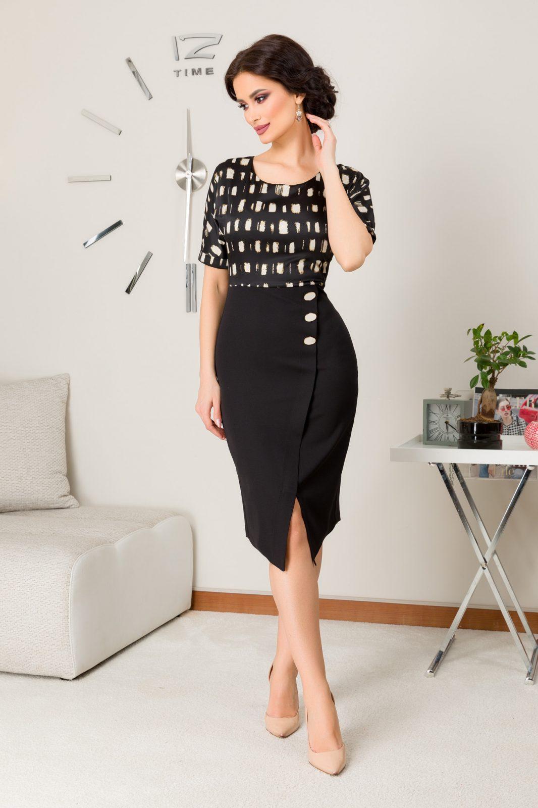 Brielle Black Dress