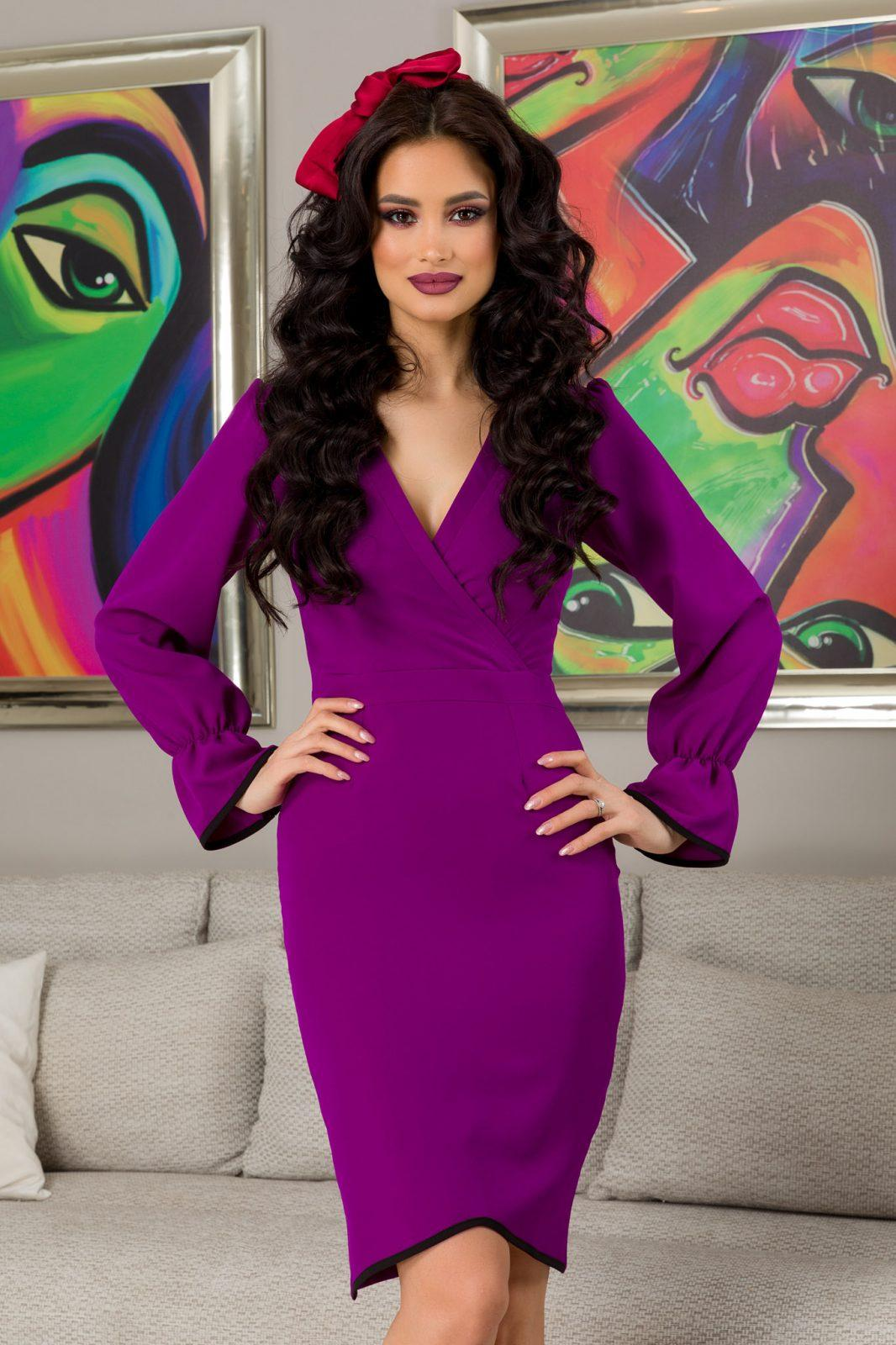 Moze Kierra Purple Dress