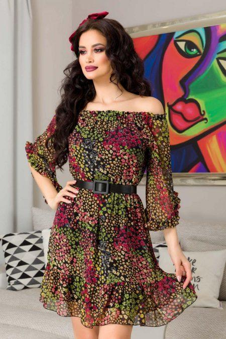 Lorena Multi Floral Dress
