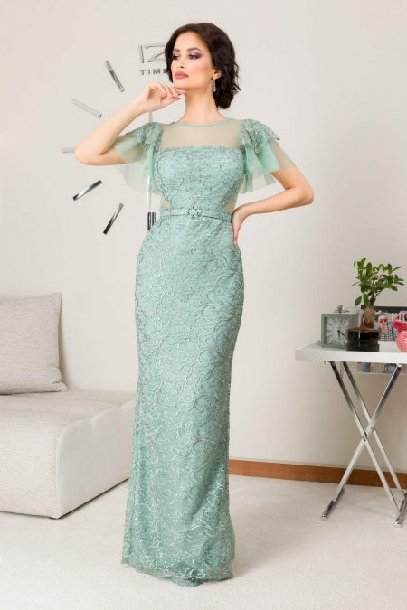 Arianna Mint Dress
