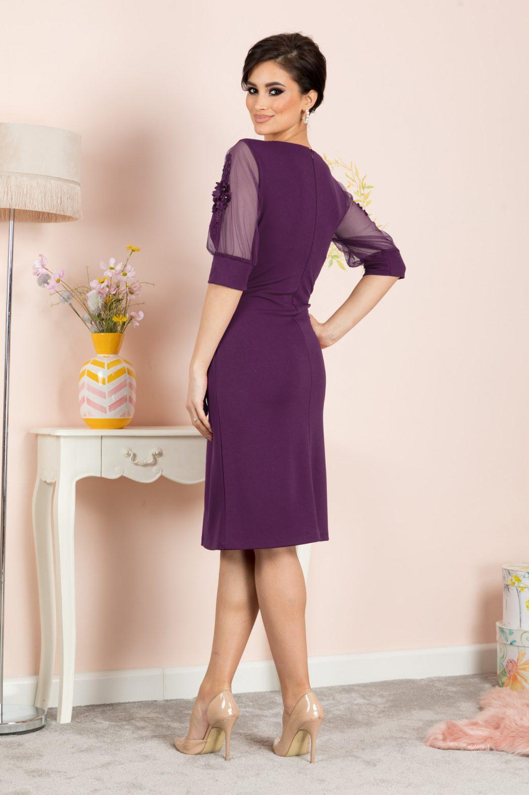 Tisha Βιολετί Φόρεμα 7346