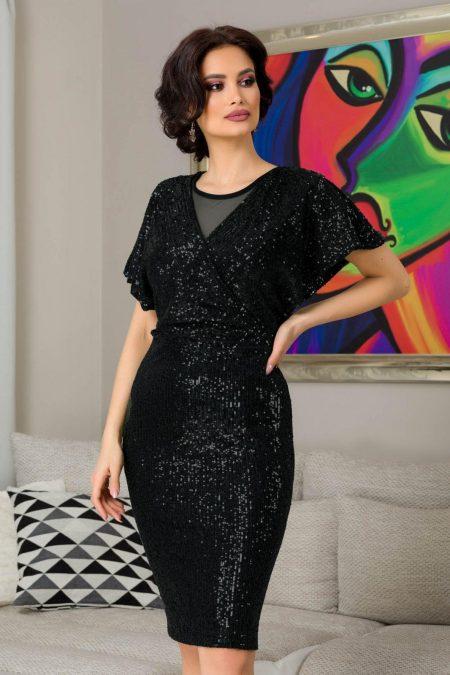 Lucia Black Dress