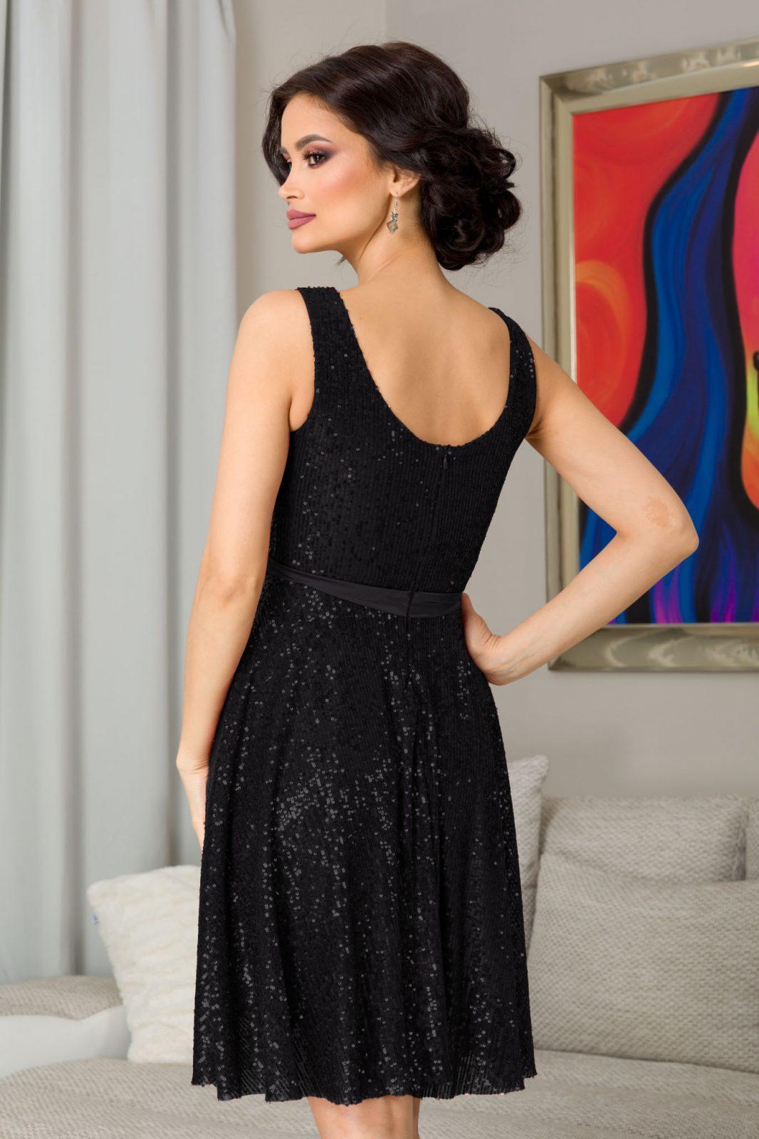 Bianca Μαύρο Φόρεμα 7339 1
