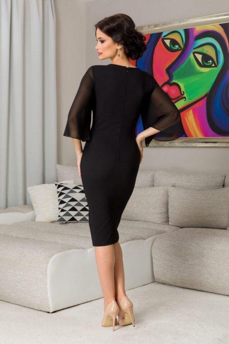 Annie Μαύρο Φόρεμα 7280