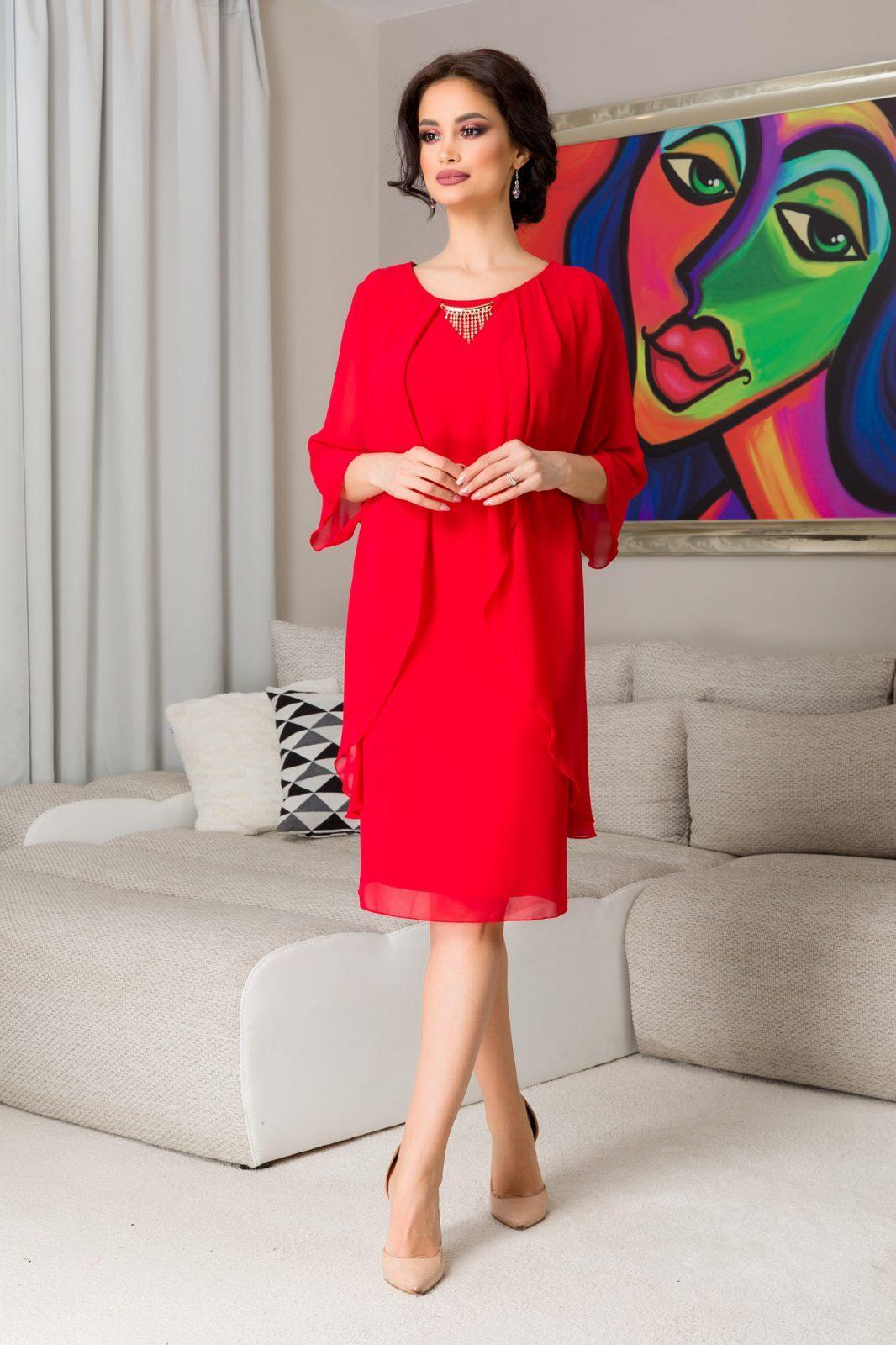 Paris Red Dress
