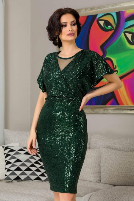 Lucia Πράσινο Φόρεμα 7305