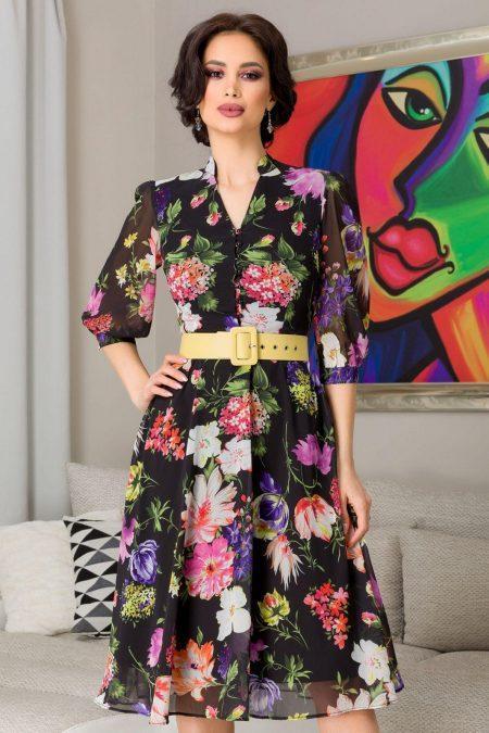 Karina Black Dress