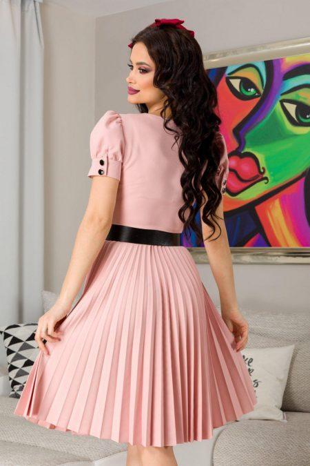 Jocelyn Ροζ Φόρεμα 7290