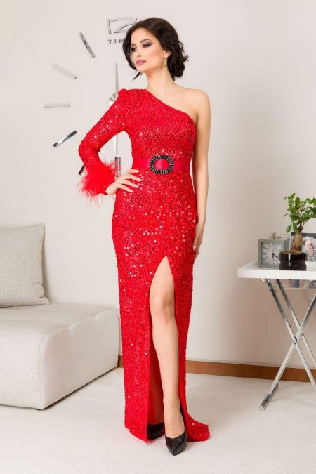Diora Red Dress