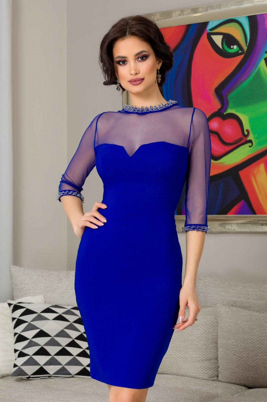 Latika Royal Blue Dress