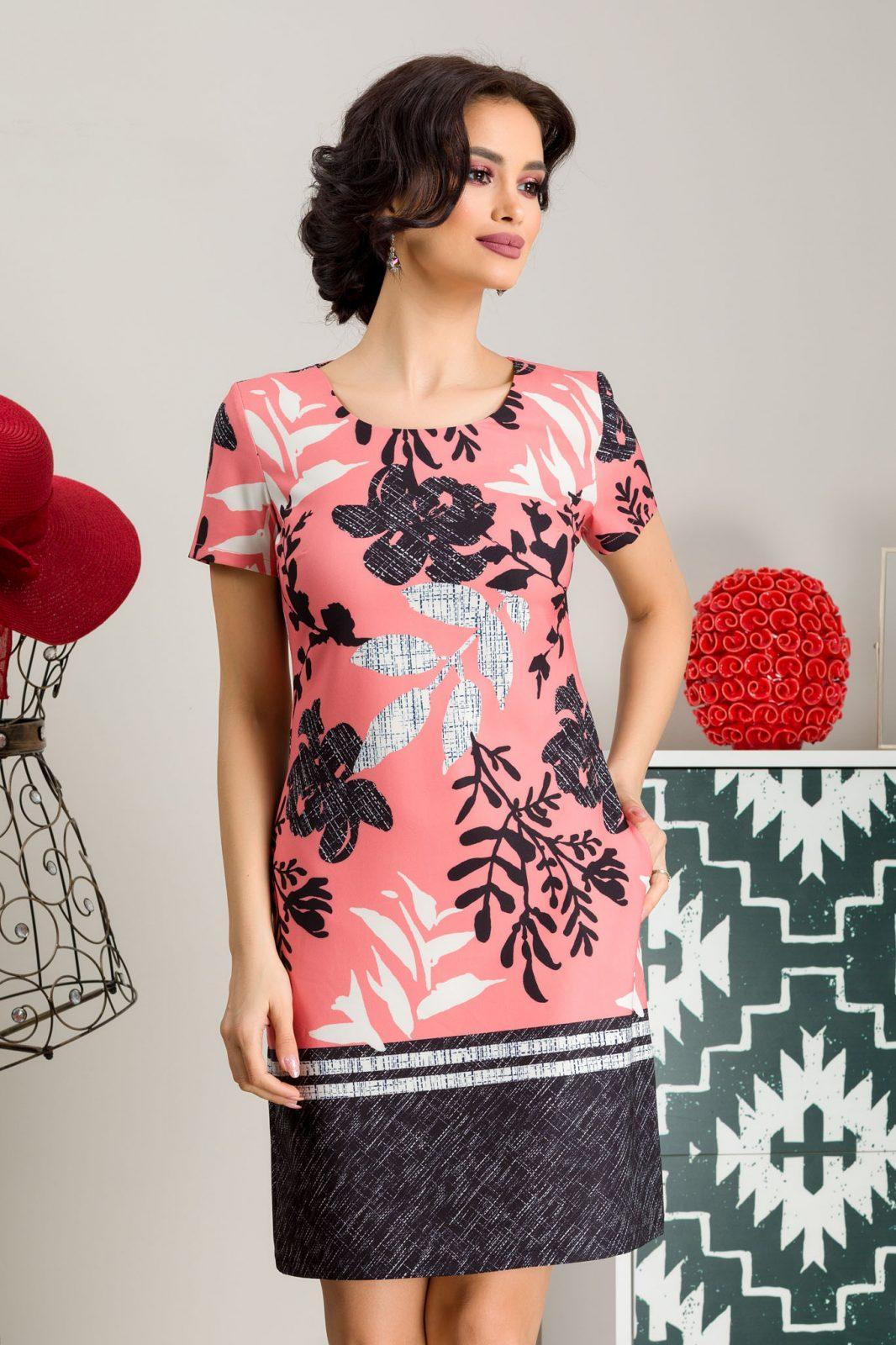 Naylin Coral Dress