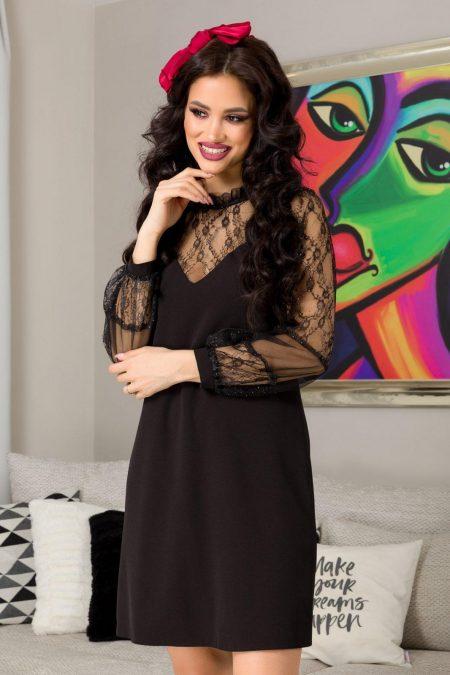Moze Carissa Black Dress