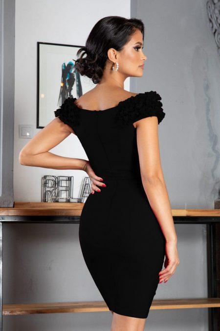 Alive Μαύρο Φόρεμα 7340