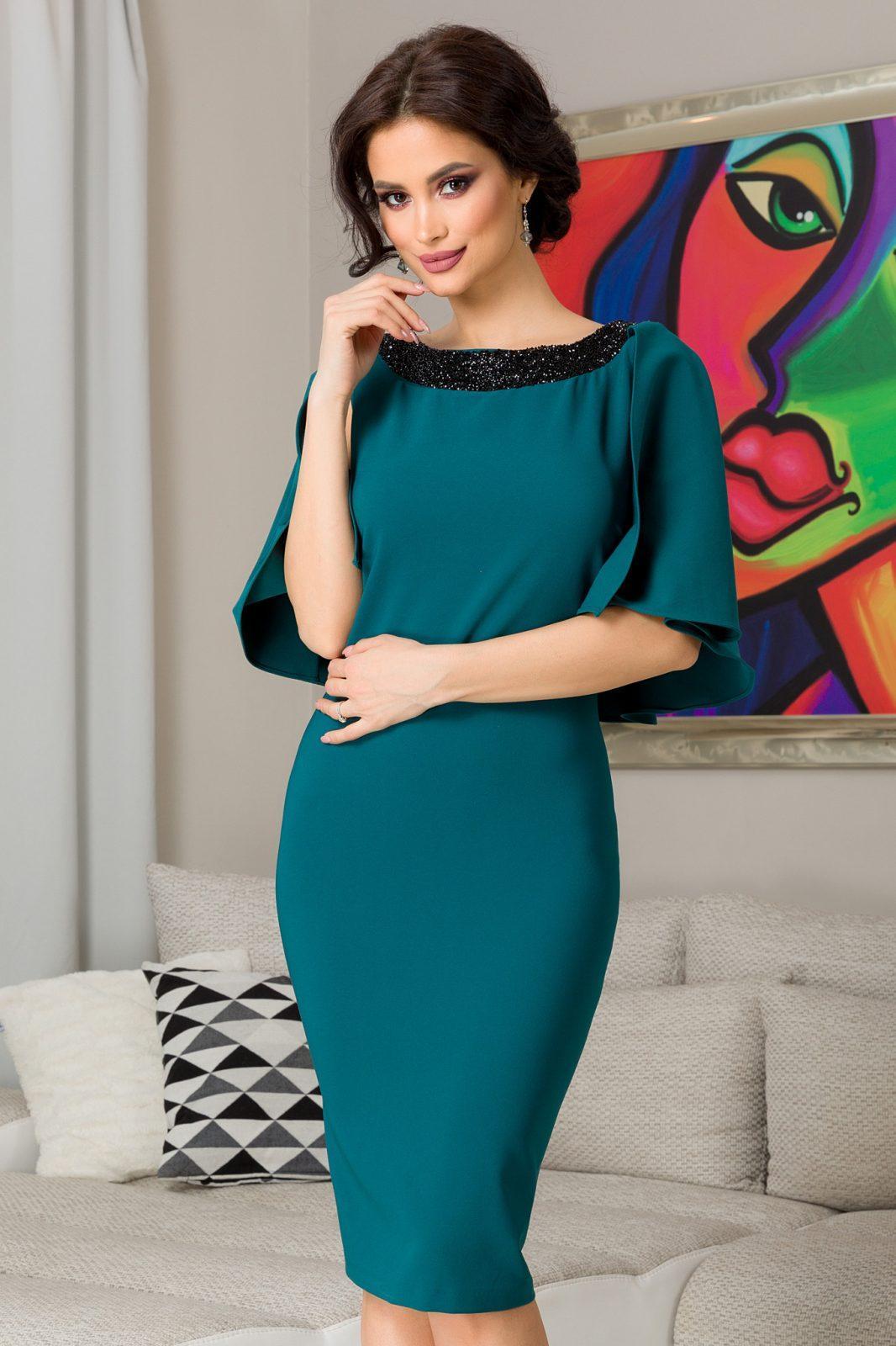 Hermione Green Dress