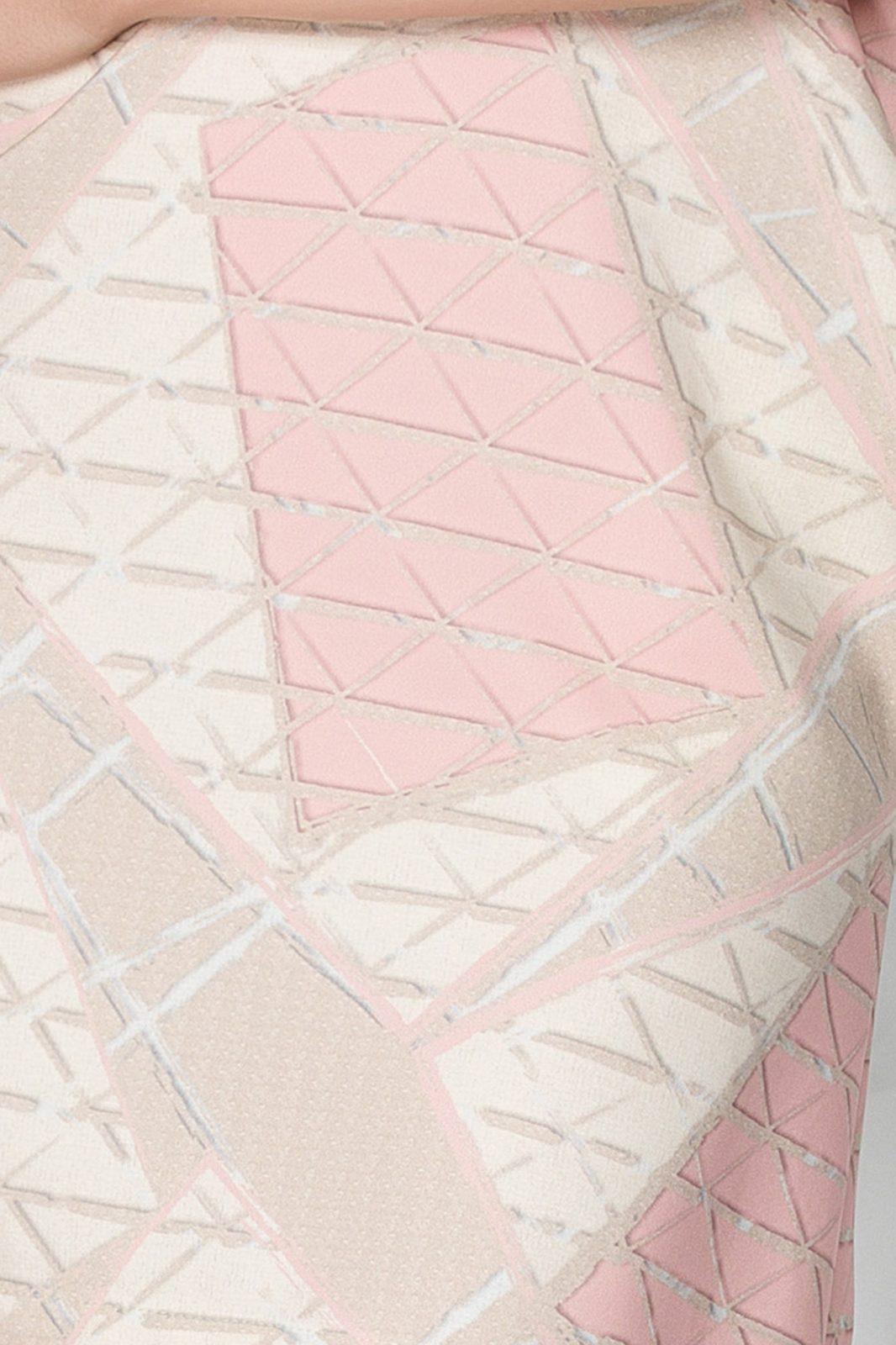 Ροζ Φόρεμα Lexya 7441