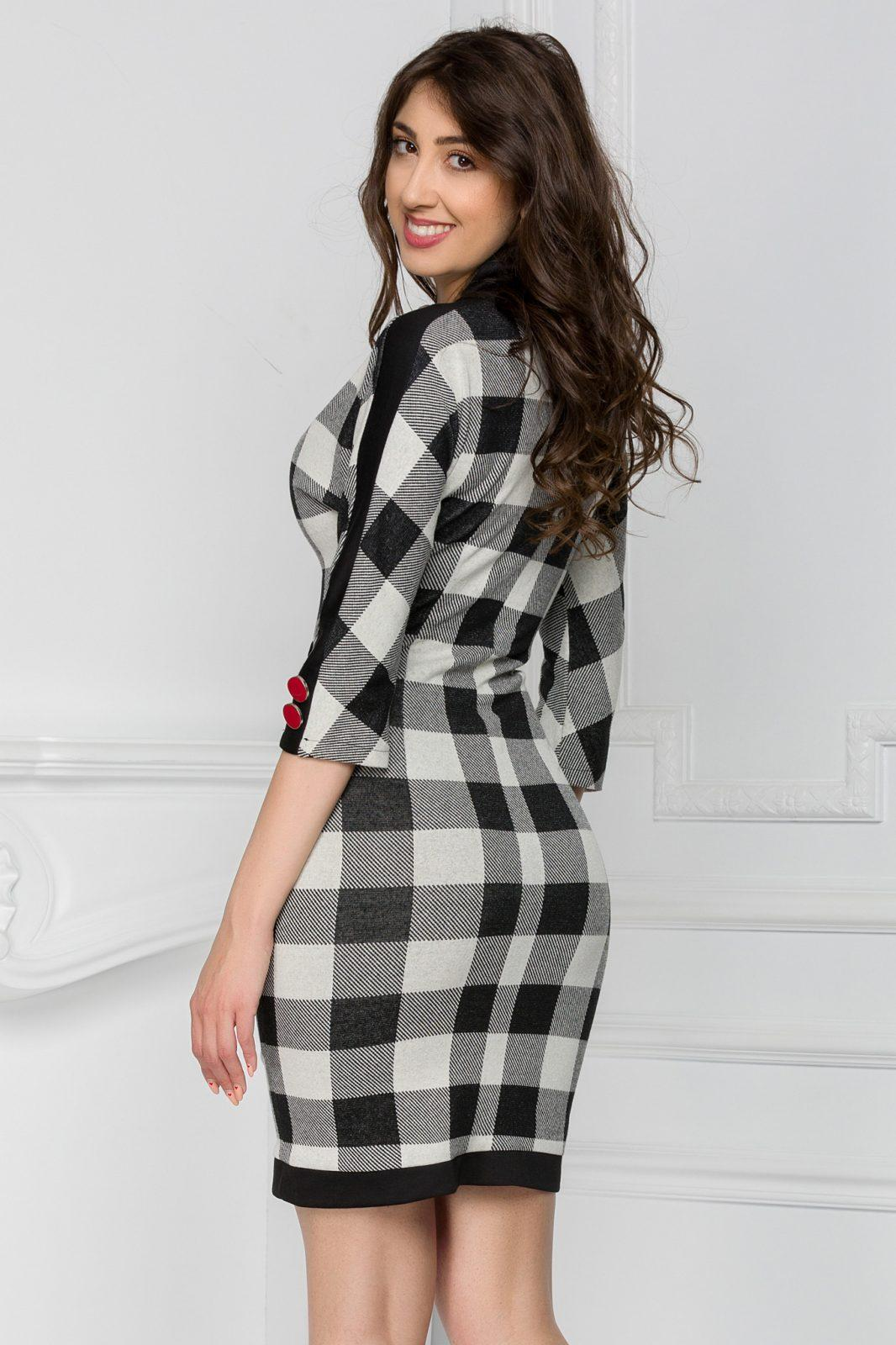 Esteffa Καρό Φόρεμα 6021