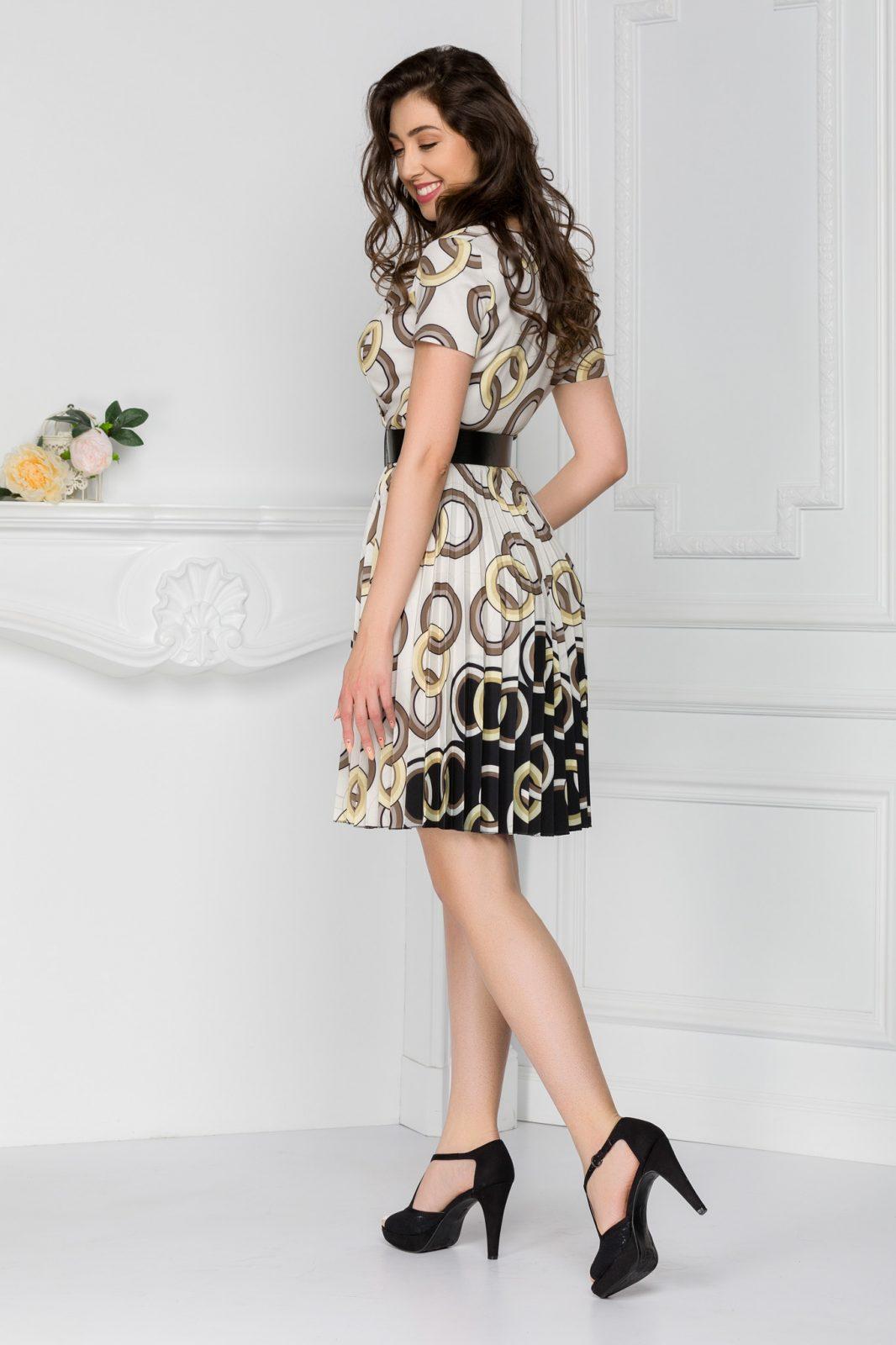Εμπριμέ Φόρεμα Lola 7430 3