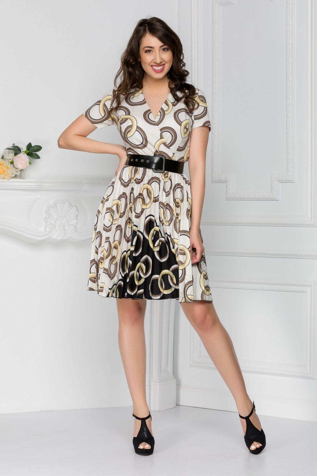 Εμπριμέ Φόρεμα Lola 7430 4