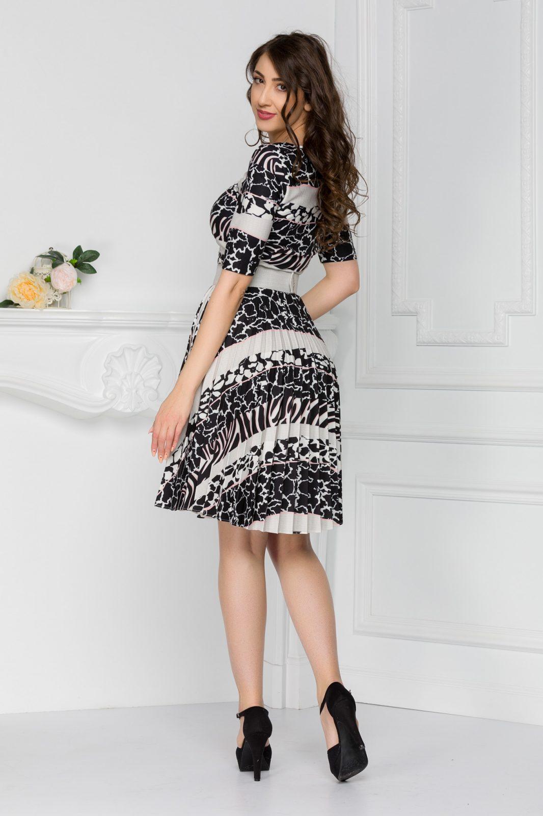 Μπεζ Καθημερινό Φόρεμα Esmer 7434 1