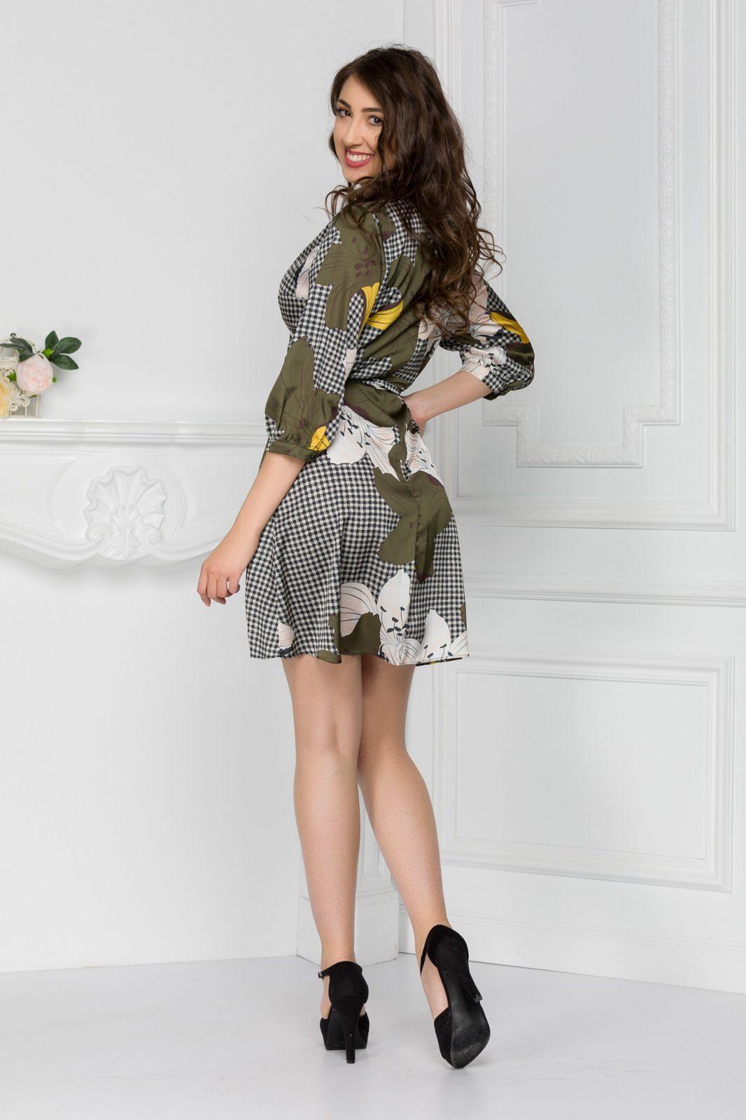 Dina Floral Φόρεμα 6041